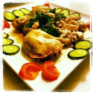 Chicken Rice Platter