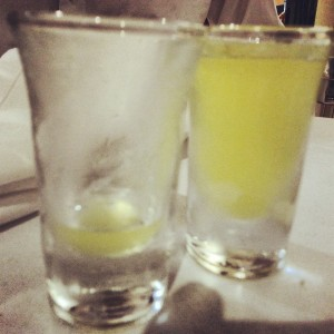 Lemon Liquer at Gargano